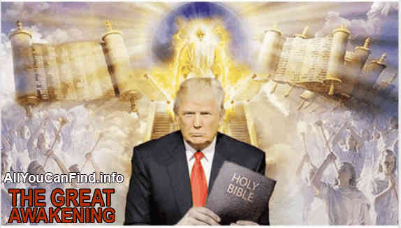 But Donald Trump was viewed in almost Biblical terms long before QAnon