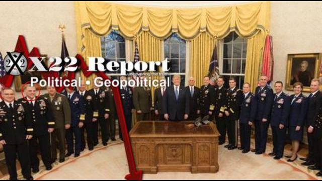X 22 Report Ep. 2578b-Out They Go,Clean House Is Very Important,[DS] Panicking Over Durham & AZ Forensic Audit